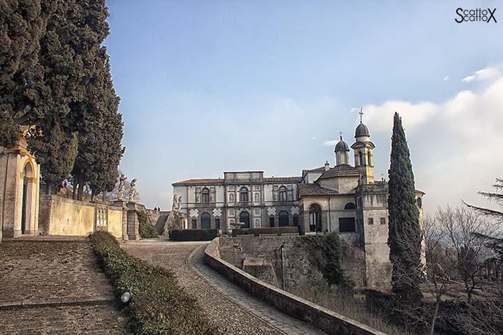 Scorci di Padova: il Santuario delle Sette Chiesette di Monselice