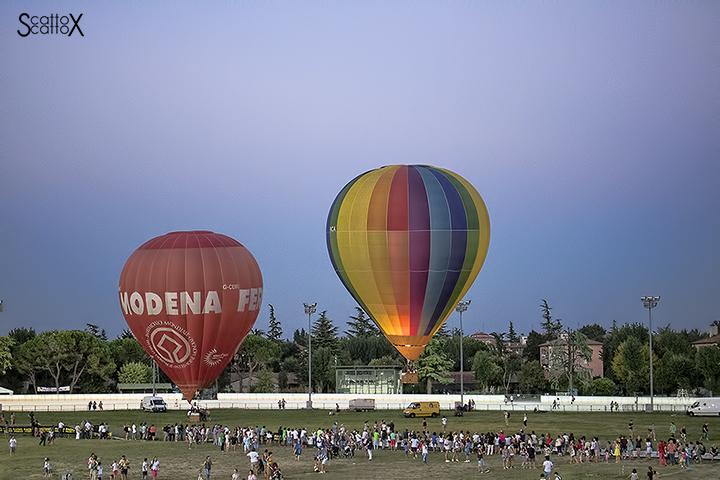 Il Festival delle mongolfiere a Padova