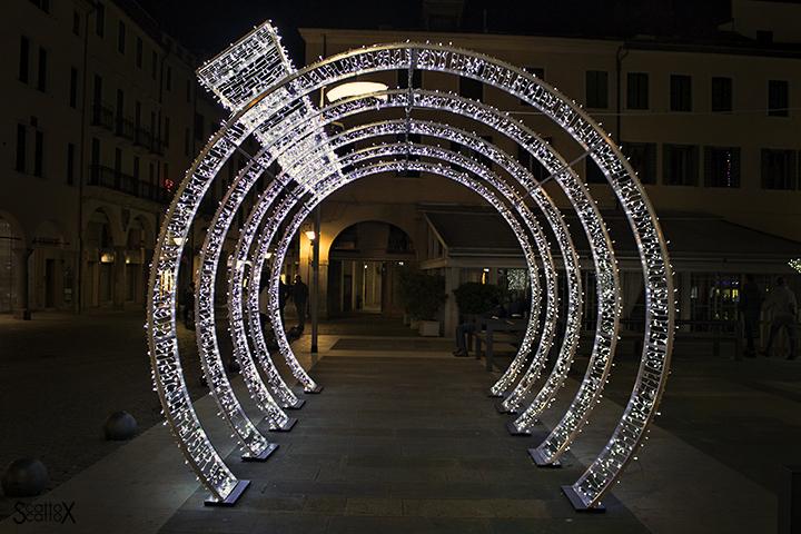 Padova e la magia del Natale: il tunnel