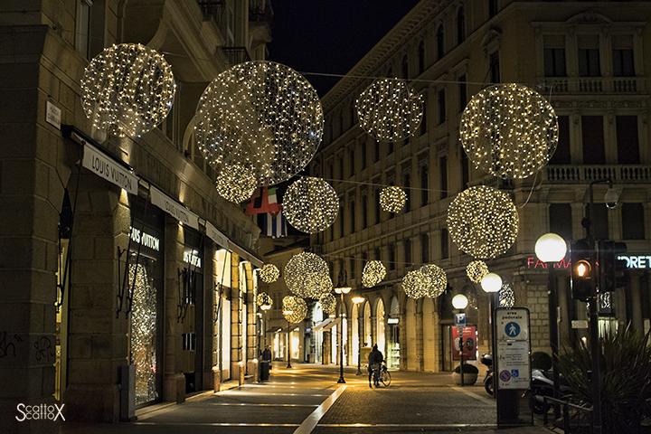 Padova e la magia del Natale: Via San Fermo