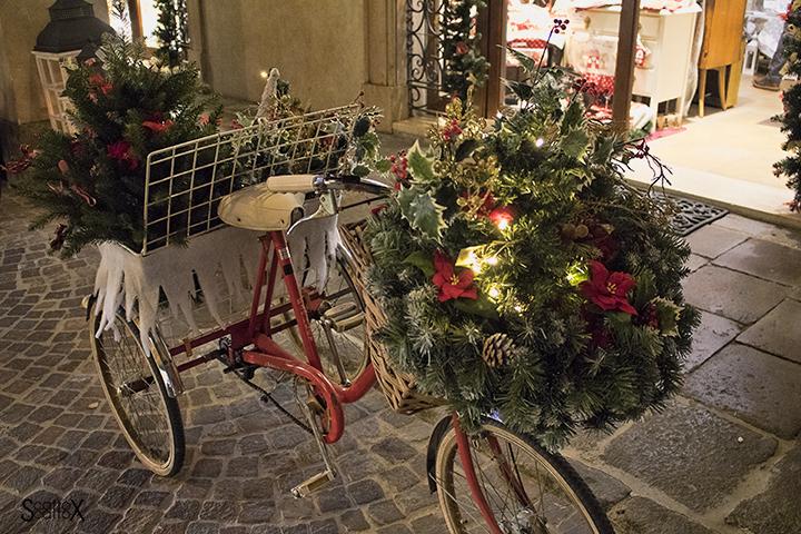 Padova e la magia del Natale: bicicletta natalizia
