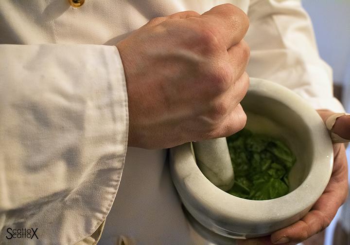 In cucina con lo chef Andrea Righetti