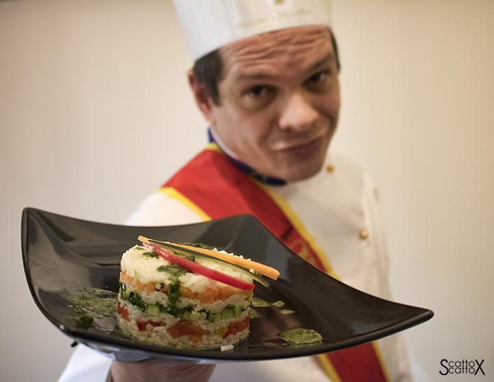 In cucina con lo chef