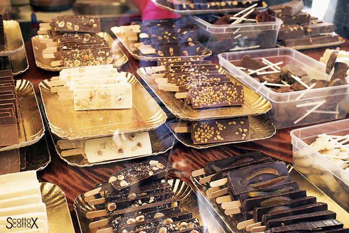 La fabbrica del cioccolato a Padova