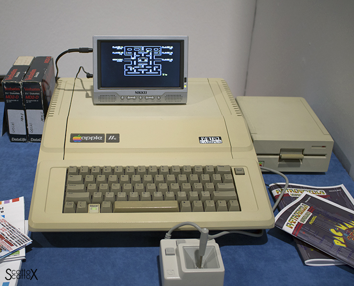 Apple IIe a ModelExpo Italy Verona