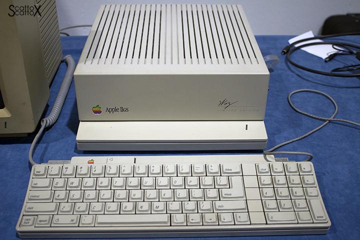 Apple IIGS a ModelExpo Italy Verona