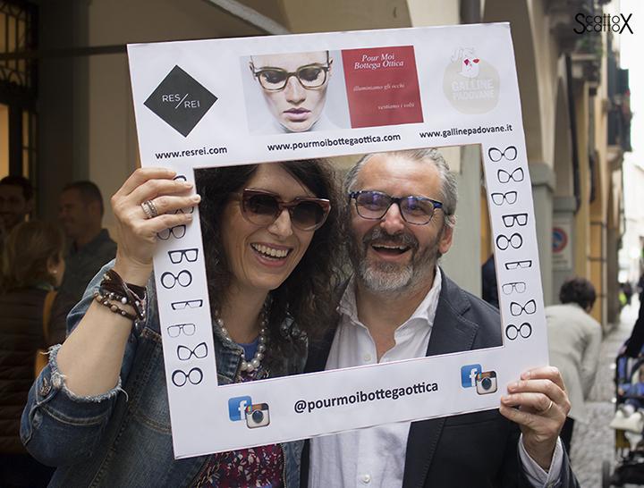 Selfie con Valerio Lana da Pour Moi Bottega Ottica