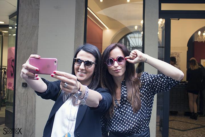 Selfie da Pour Moi Bottega Ottica