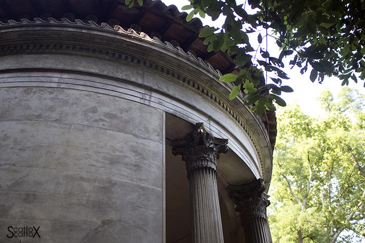 Parco Treves de Bonfili - La Tribunetta in pietra di Nanto