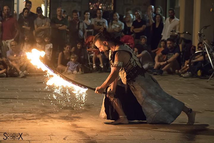 La notte del fuoco a Monselice: Il Drago Bianco