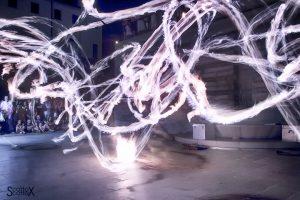La notte del fuoco a Monselice