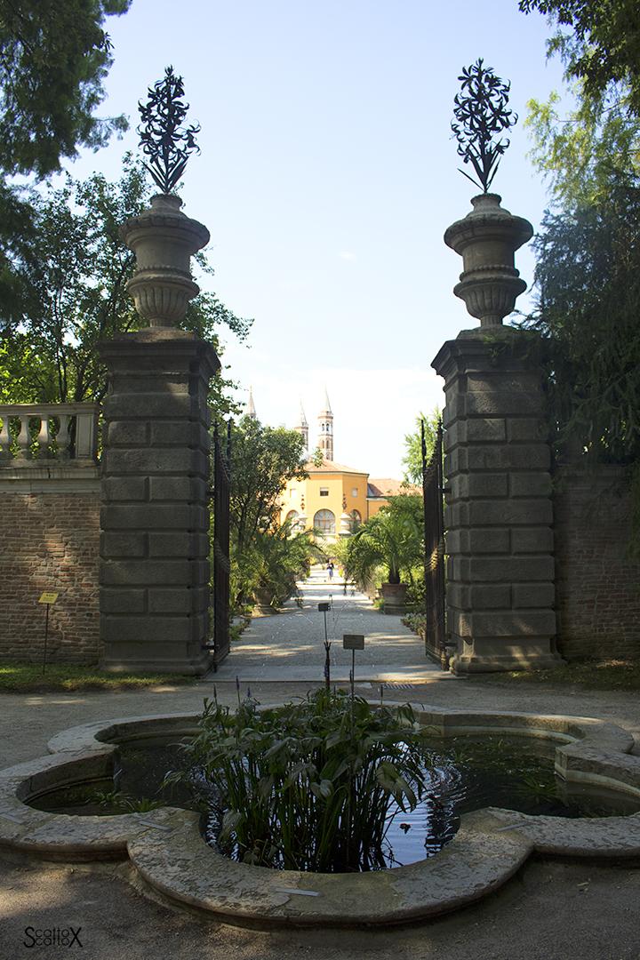 Orto Botanico di Padova: la Porta Sud