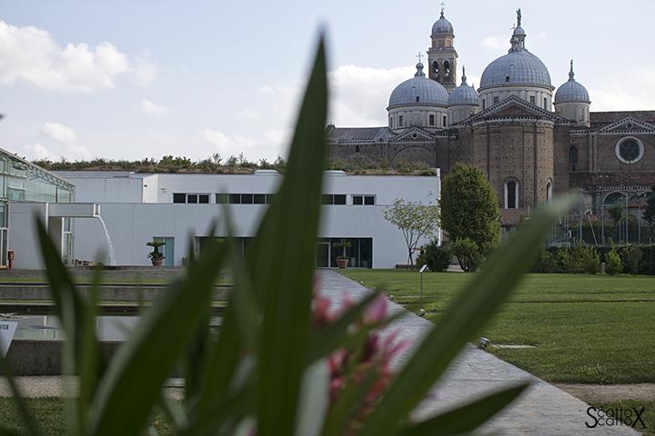 Orto Botanico di Padova: l'ingresso alla parte nuova