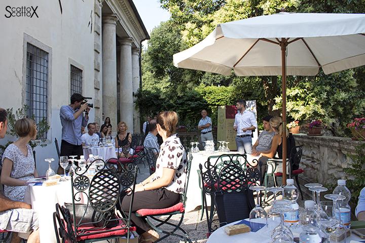 Sorsi d'Autore presso Villa Valmarana a Vicenza: introduzione alla degustazione dei formaggi