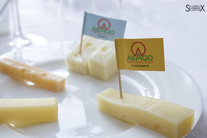 Sorsi d'Autore presso Villa Valmarana a Vicenza: le diverse stagionature del formaggio Asiago DOP