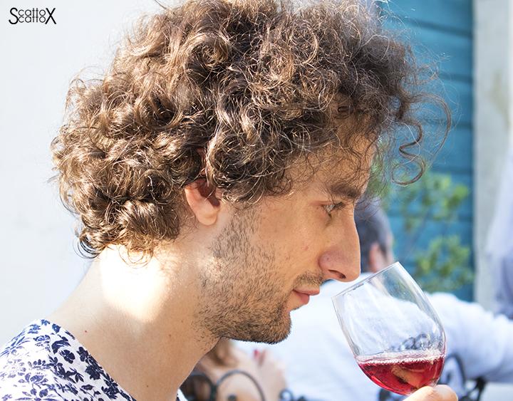 Sorsi d'Autore presso Villa Valmarana a Vicenza: il vino va apprezzato prima all'olfatto