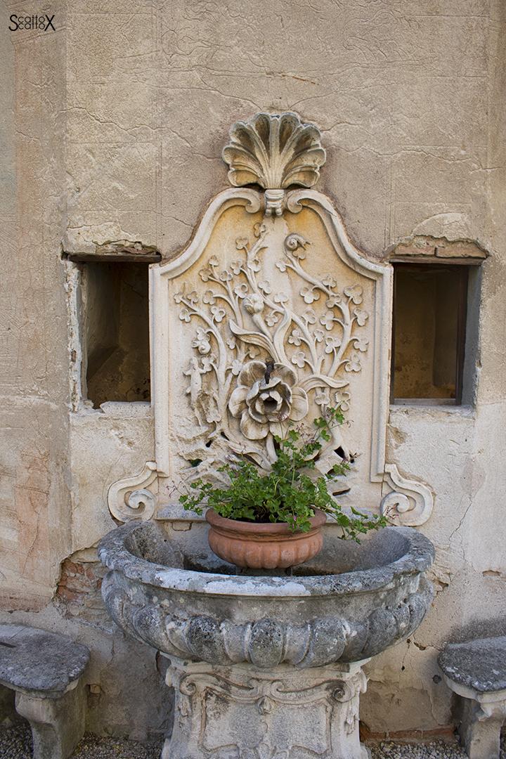 Sorsi d'Autore presso Villa Valmarana a Vicenza: dettaglio del giardino della Villa