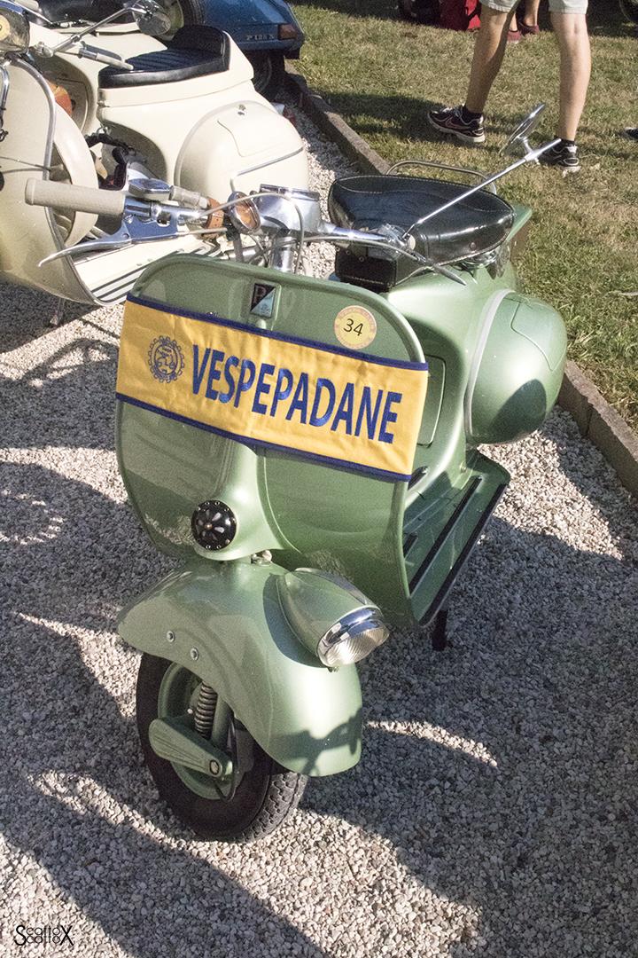 Miss Vespa Vintage a Villa Obizzi