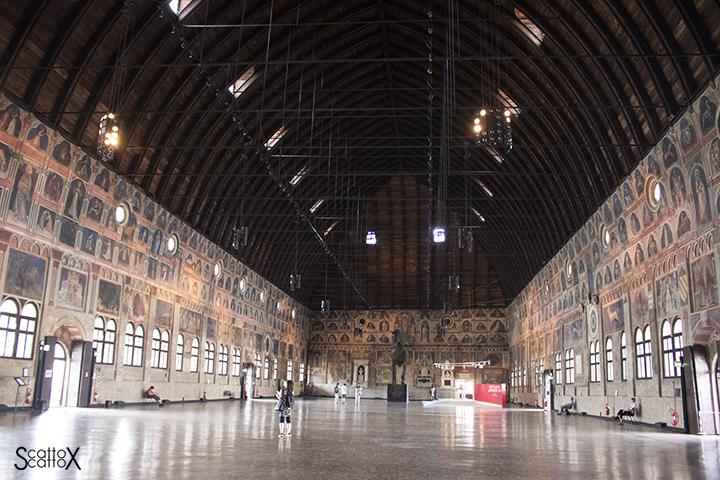 Il Palazzo della Ragione di Padova: il Salone