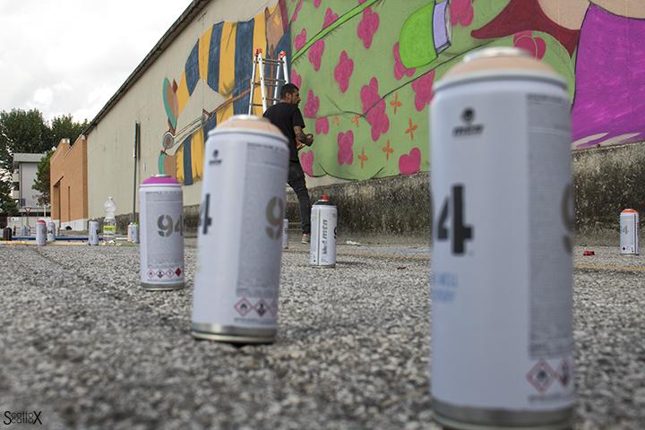 I DOLOve Street Art Festival: Tony Gallo