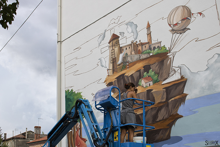 I DOLOve Street Art Festival: Alessandra Carloni
