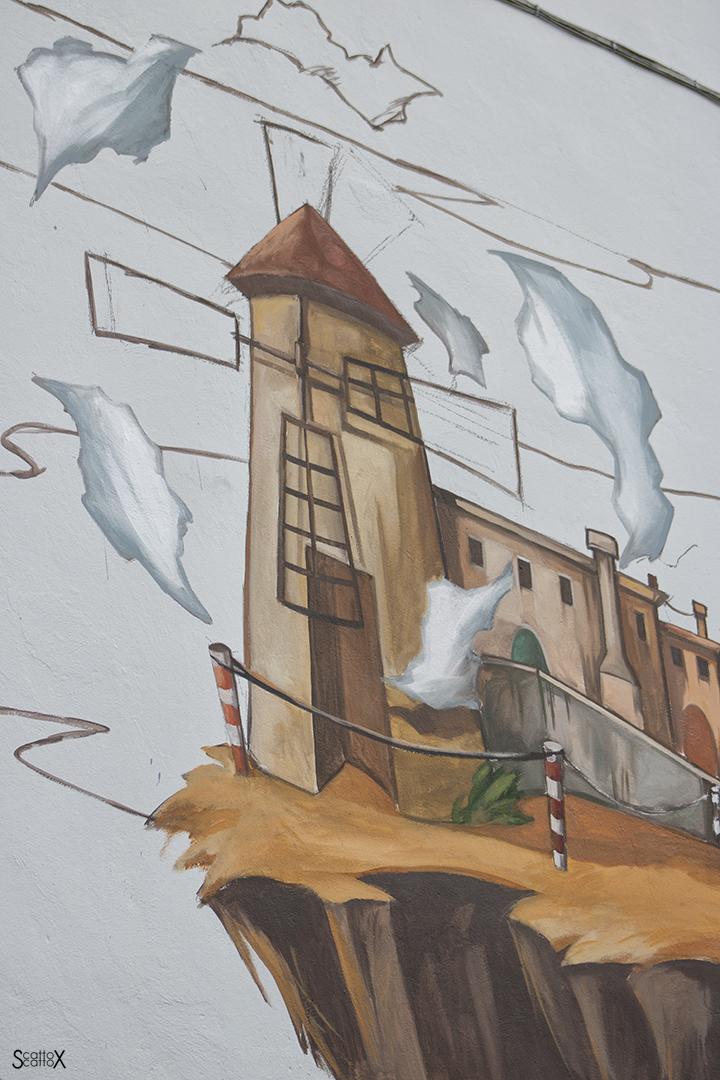 I DOLOve Street Art Festival: l'opera di Alessandra Carloni