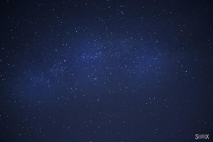 Il cielo di Padova: astrofotgrafia: primi approcci alla Via Lattea