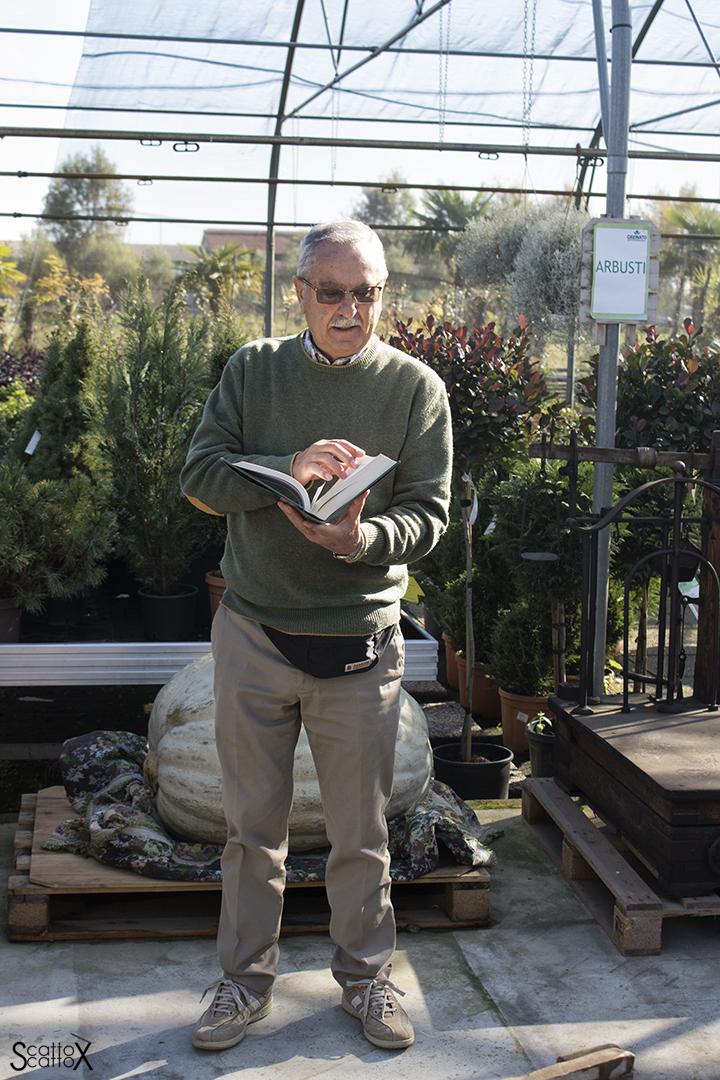 "Garden Cavinato: Sante Cavinato racconta del frutto ""della pianta del sucaro"""