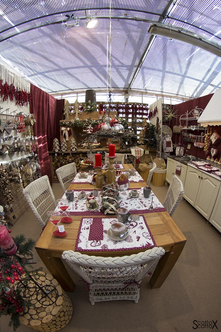 Garden Cavinato: l'allestimento della cucina di Natale