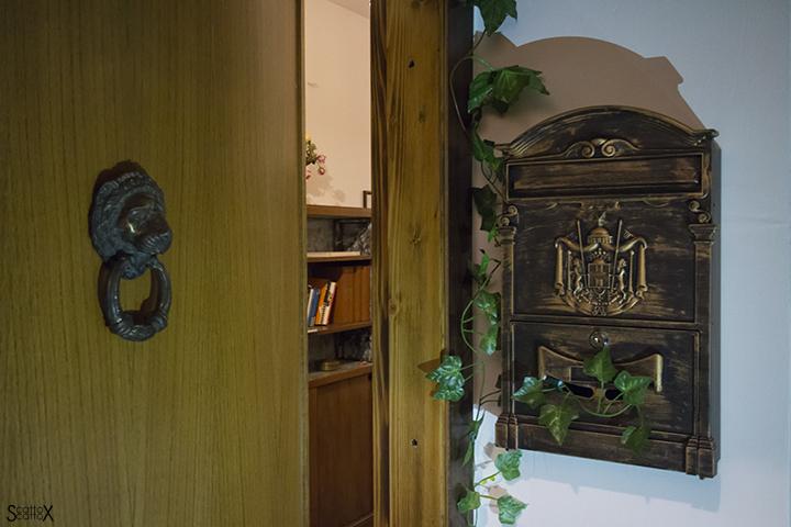 IScampa: l'ingresso dello studio di zia Agata, dove si svolge il gioco
