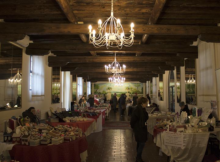 Il Castello di San Pelagio e il Christmas Market