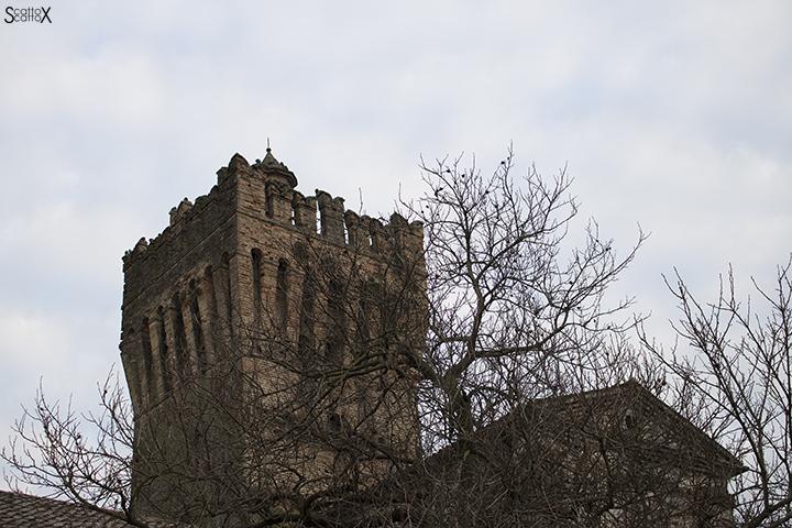 Il Castello di San Pelagio: la torre medievale