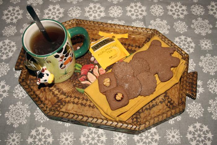 Inverno, tea caldo e biscotti: perfetto!