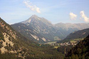 Sulle montagne della Valle d'Aosta