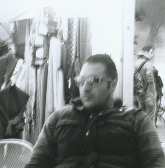 Agfa Clack + Lomography black & white Earl Grey