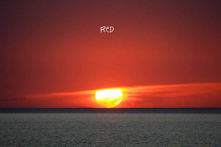 The August Break 2013 – Day 10: red