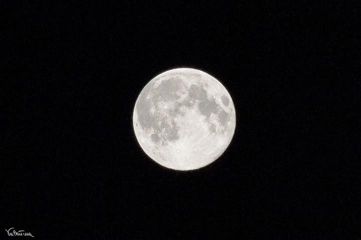 La mia super Luna!
