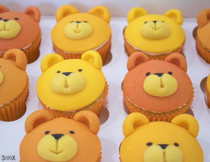 Cake Studio Padova: dolci creativi per occasioni speciali - Cupcake per una festa a tema orsetti
