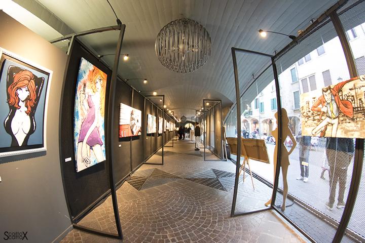 Lupin a Padova: la mostra in Galleria Samonà di Via Roma