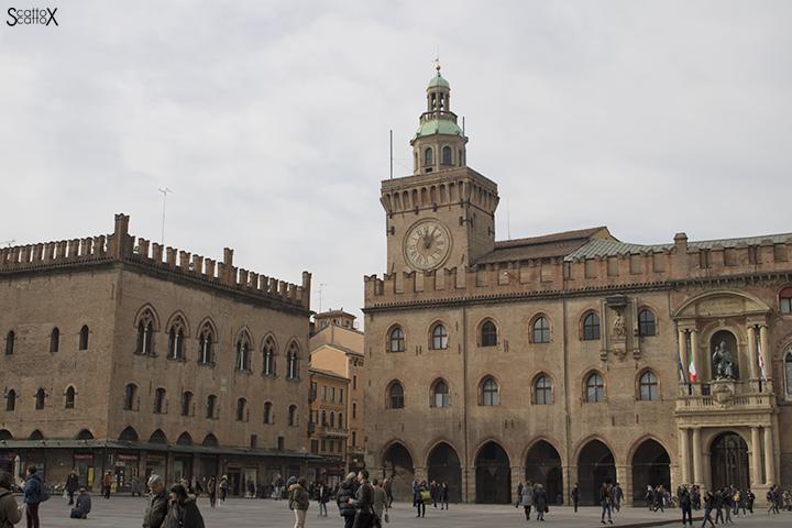 Bologna: Palazzo dei Notai e Palazzo d'Accursio