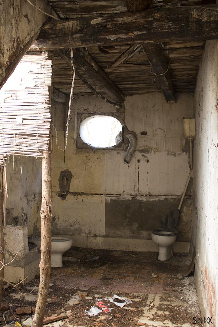 Villa Valier: bagno di servizio