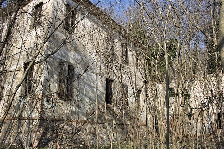 Villa Valier: la facciata