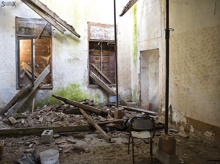 Villa Valier: interno
