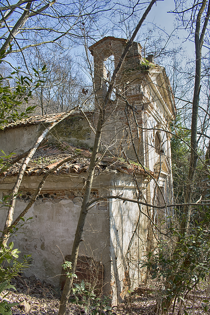 Villa Valier: la chiesetta