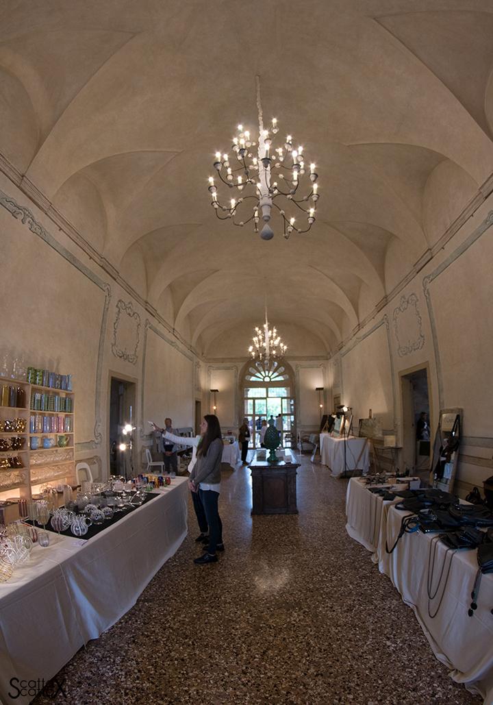 Villa dei Vescovi: il salone delle feste