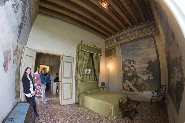 Villa dei Vescovi: la stanza del Putto