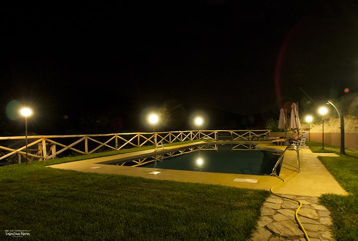 Le stanze della musica: la piscina