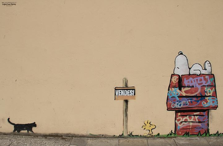 La Street Art a Padova - Kenny Random