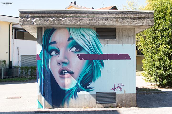 La Street Art a Padova - Alex Axe Ermini
