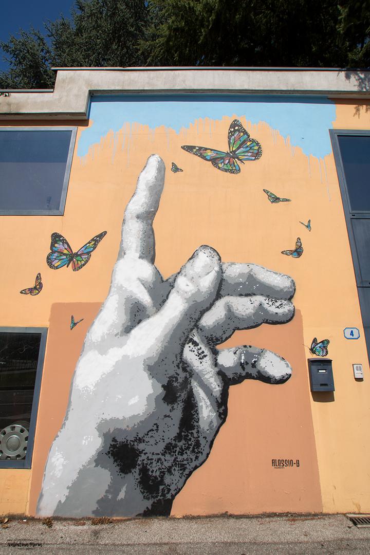 La Street Art a Padova - Alessio B